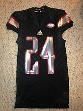 2015 Adidas Louisville Cardinals #24 Kevon Dunbar Football Game Worn Jersey