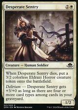 4x Desperate Sentry | NM/M | Eldritch Moon | Magic MTG
