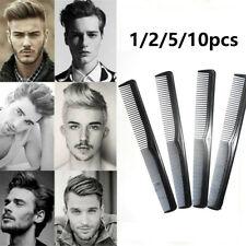 10Pcs Salon Hair Styling Hairdressing Antistatic Barbers Detangle Comb Black New