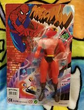 Dynamic Spider-Man Power-Man KO Knockoff Bootleg Action Figure MOC