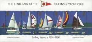 "GUERNSEY SCOTT HINGED # 463a  ""GUERNSEY YACHT CLUB "" 1891-1991"