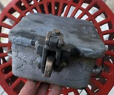 Vintage WRRS Western Railroad Supply Co 2190-13 Cast Iron Cut Off Junction Box