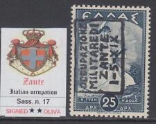 ITALY ZANTE - ITALIAN OCC. n.17 - cv 1450$ - MNH** SIGNED OLIVA