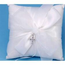 Ivy Lane Design 38Bit Grace Wedding Ring Pillow in White