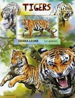 Sierra Leone - 2017 Tigers on Stamps - Souvenir Sheet - SRL17303b