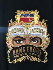 More details for michael jackson dangerous tour jacket mint condition xl, very rare tour jacket.