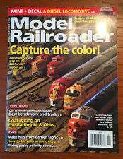 Model Railroader Magazine February 2018 Bowser SD40-2F diesel tested