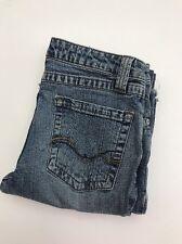 Women's Duck Head Jeans Co. Size 7 Long Flare  Stretch Blue Jeans
