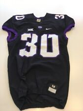 Game Worn Used Nike TCU Horned Frogs Football Jersey #30 Size M