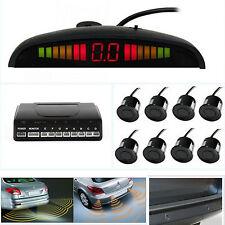 Car SUV Backup Reverse Parking Radar With 8 Sensors Sound Alert Alarm System New
