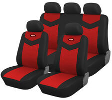 Synterior Brand, Leather - Like Vinyl Car Seat Covers, Sku:157RD
