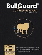 BullGuard 2018 Premium Protection Internet Security 3 Users 1 Year PC/MAC