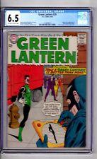 Green Lantern #29 CGC 6.5 OW/WP 'Origin..1st..App..Black..HAND.!Gil Kane C & A!