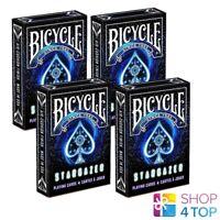 4 Mazos Bicycle Stargazer Poker Juego Tarjetas Trucos Nuevo