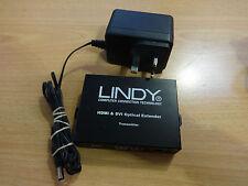 Lindy HDMI y DVI óptico extender Transmisor/uso 2x Fibra LC de hasta 100 M