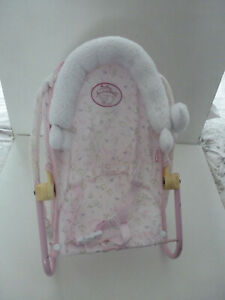 BABY ANNABELL DOLL BOUNCER SEAT - CARRY SEAT  -  ZAPF CREATIONS