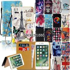 For Apple iPhone 345678/Itouch 3456 Leather Wallet Stand Cover Case
