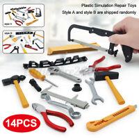 14Pcs Simulation Repair Drill Screwdriver Tool Set for Kids Children Toy