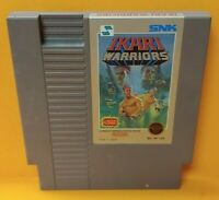 Ikari Warriors - Nintendo NES Game Rare Tested Works Great Authentic
