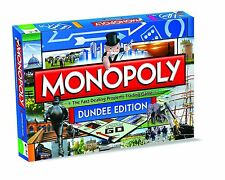Dundee Edition Monopoly Family Board Game Brand New Sealed
