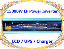 60000W/15000W Split Phase 24VDC/110V,220V AC 60Hz Power Inverter LCD/UPS/Charger