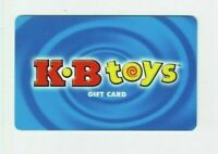 KB Toys Gift Card - Blue Background - K B  Toys / Defunct Toy Store - No Value