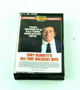 Tony Bennett's All-Time Greatest Hits Vtg Audio Cassette Tape