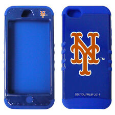 MLB New York Mets Cover Impact Silicone Hybrid Case for iPhone 5c