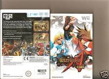 Guilty Gear Core NINTENDO WII 2D Beat em up Raro