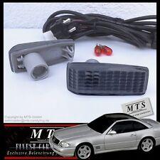 SCHWARZE Seitenblinker Mercedes W201 W124 W126 C126 W140 C140 W202 R129 AMG
