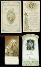 lotto santini-holy cards lot-lot images pieuses-konvolut heiligenbildichen 2489