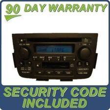 01 02 03 04 ACURA MDX Radio Stereo Tape Cassette CD Player 39101-S3V-A030