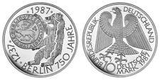 BRD ALLE 10 DM GEDENKMÜNZEN SILBER AB 1972 IN BANKFRISCH UND PP ZUR AUSWAHL