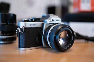 Nikon FM2 + Nikon Nikkor 50mm f/1.4, AI + Nikon Nikkor 135mm 1:2.8 AI