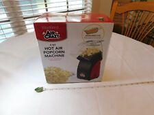West Bend Air Crazy 4 Quart Hot Air Popcorn Maker Machine Red Black NEW Westbend