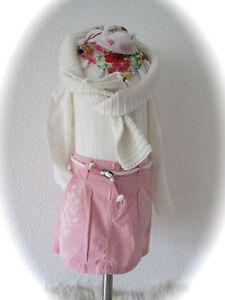 H&M° Minirock Longsleeve (dopodopo) Strickpulli °Topolino° rosa créme 110 116 NW