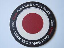 "Dutch Beer Brewery Coaster: AMSTEL Brewing Light ~ Amsterdam ""One Dam Good Beer"""