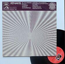 "Vinyle 33T Iannis Xenakis  ""Xenakis - St 10-1,080262"""