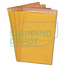 "100 #3 8.5x14.5 Kraft Bubble Mailers Self Seal Envelopes 8.5""x14.5"" Secure Seal"