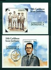 Dominica Scott #1710-1711 MNH Caribbean Scout Jamboree CV$11+