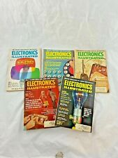 Vintage - Lot of 5 - Electronics Illustrated - Magazines - Years 1966 & 1967