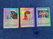 Sailor Moon 3x Holo Cards TGC CCG Prism Shiny Promo Archival no.s 2 3 7