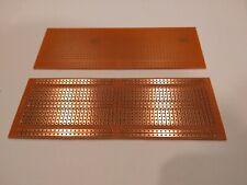 5pcs Protoboard Single Side Through Hole PCB Solder Breadboard Layout 13.3x4.8cm