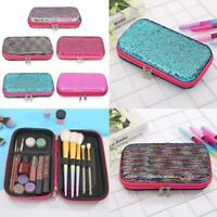 Sequin EVA Pencil Stationery Case School Supply Cosmetic Craft Bag Birthday Gift