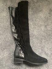 Dune Flat Tassel Boots