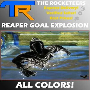 [PC] Rocket League Every Reaper Import Goal Explosion Grey Lime etc.