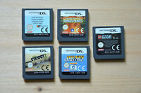 NDS - 5 Spiele für Nintendo DS (Set 25)