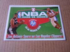 Vignette panini - Basket 2010 NBA - N°343 - San Antonio Spurs vs Los Angeles