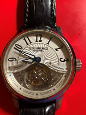 Stuhrling Mechanical Tourbillon Watch Limited #11 of 100 1/2 of retail