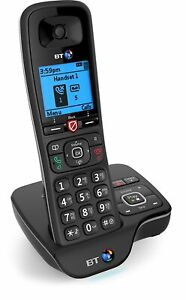 BT 6600 Black Cordless Home Phone with Answer Machine and Call Blocker